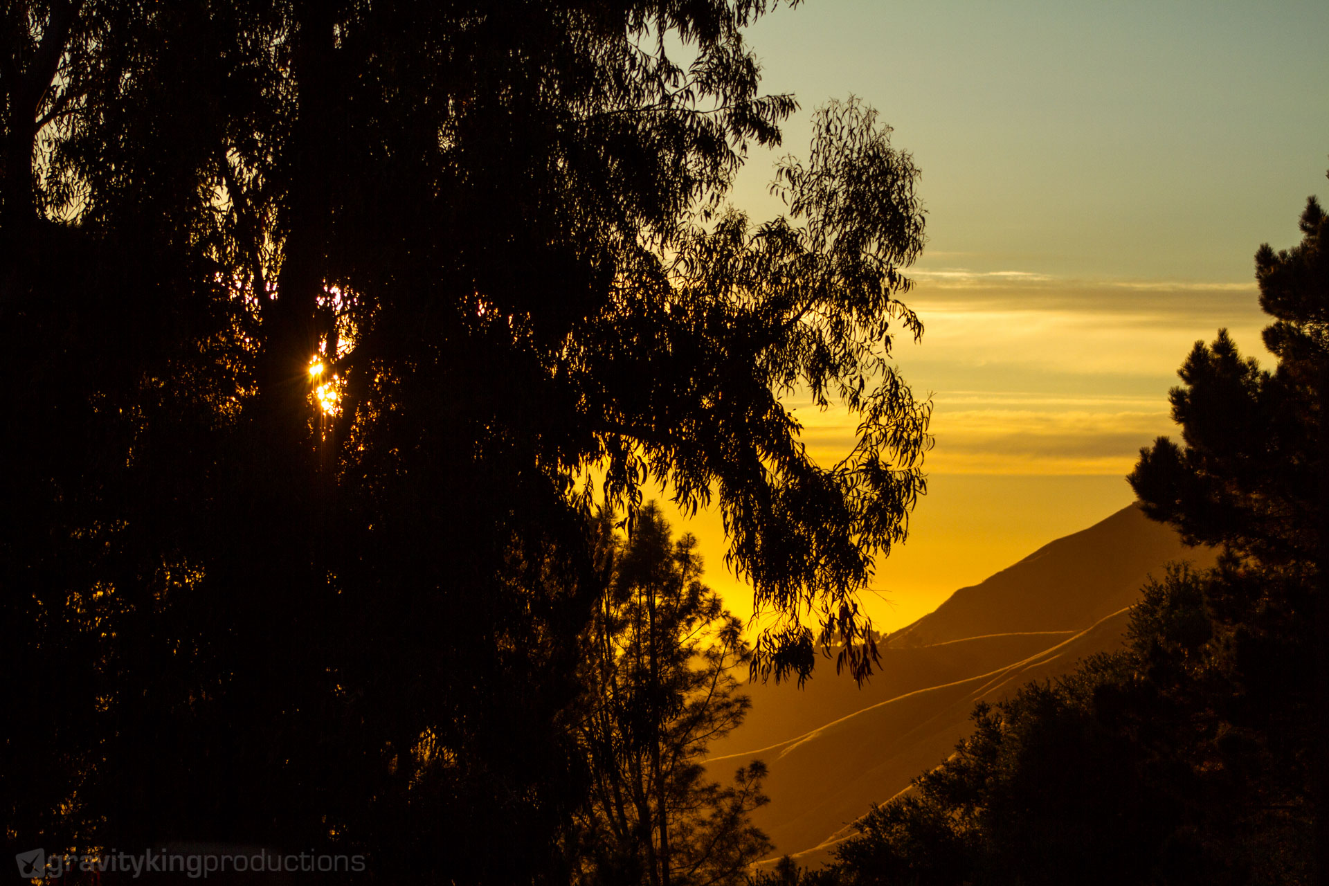 Golden sunset high above Big Sur. Makes it clear why it's called the 'Golden Coast'.