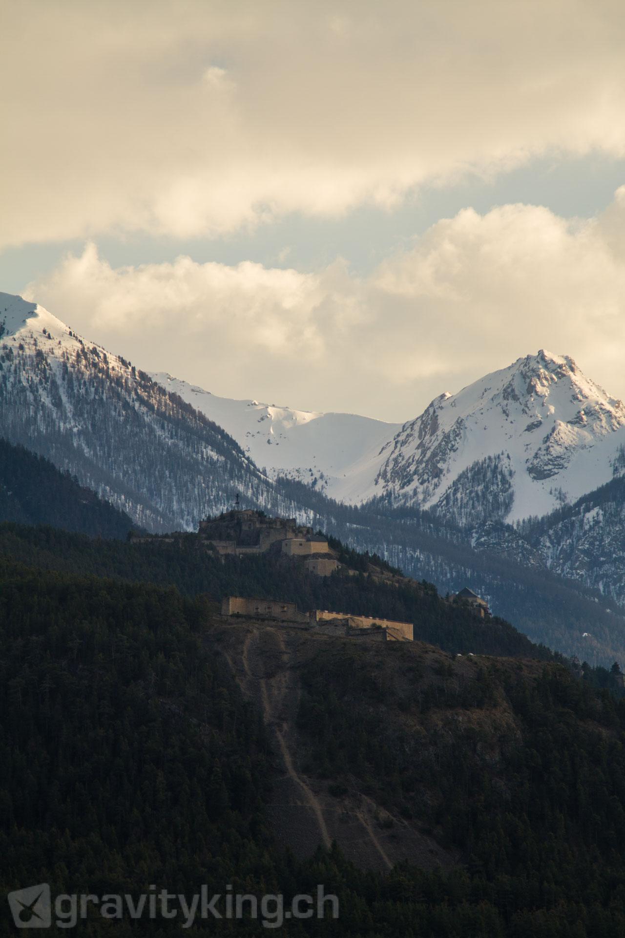 Fort du Randouillet, Briançon, French Alps