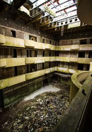Abandoned hotel Azores