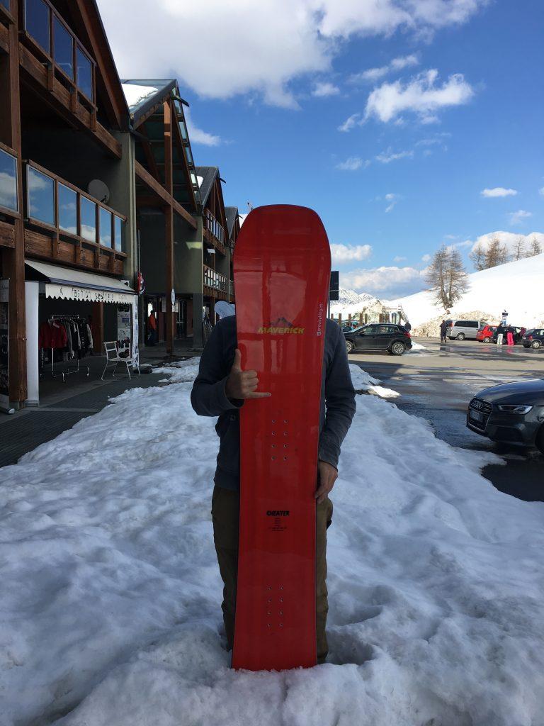 Maverick snowboards