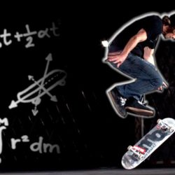 skateboard physics