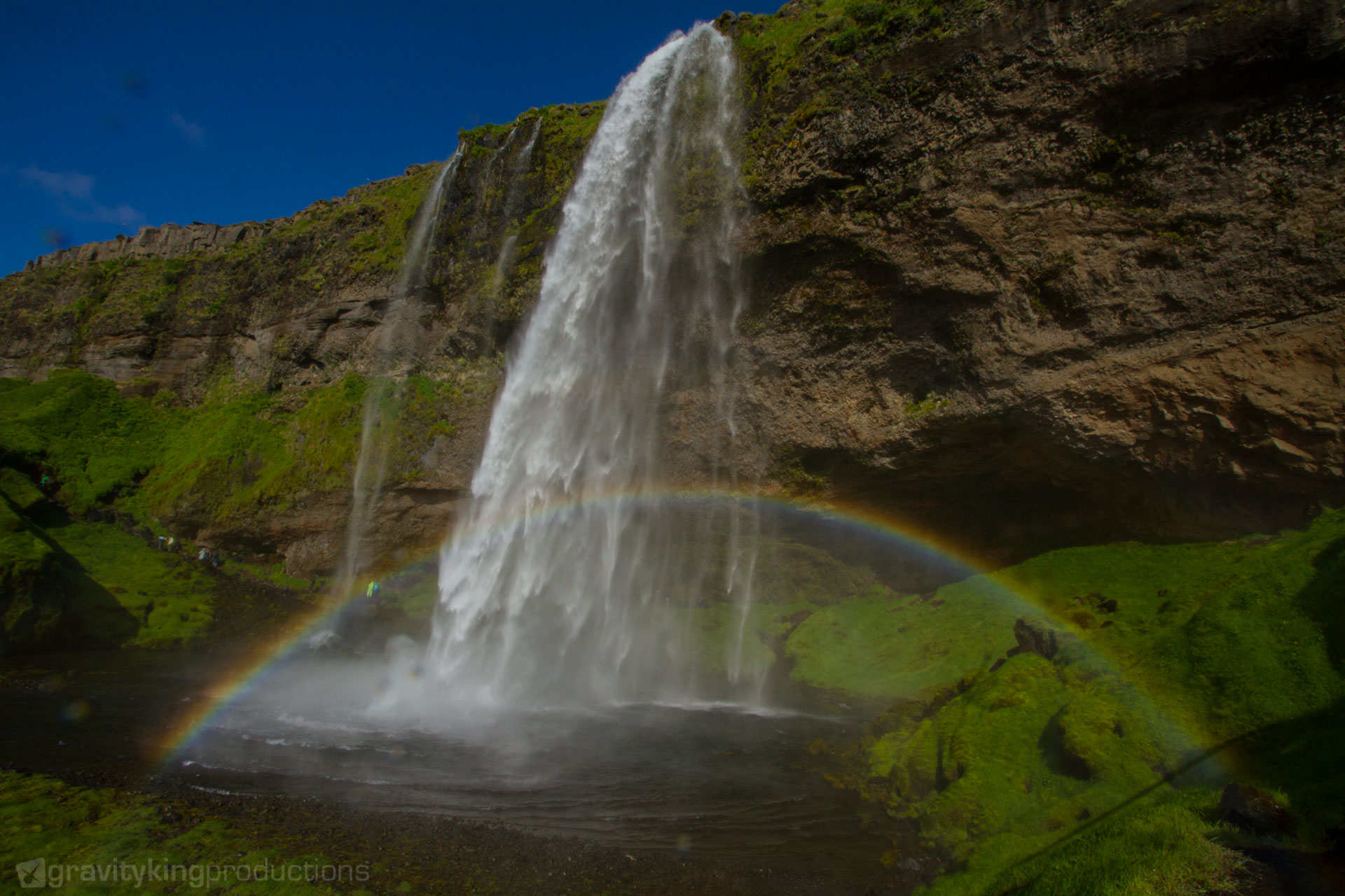 Another famous waterfall in the south of Iceland.