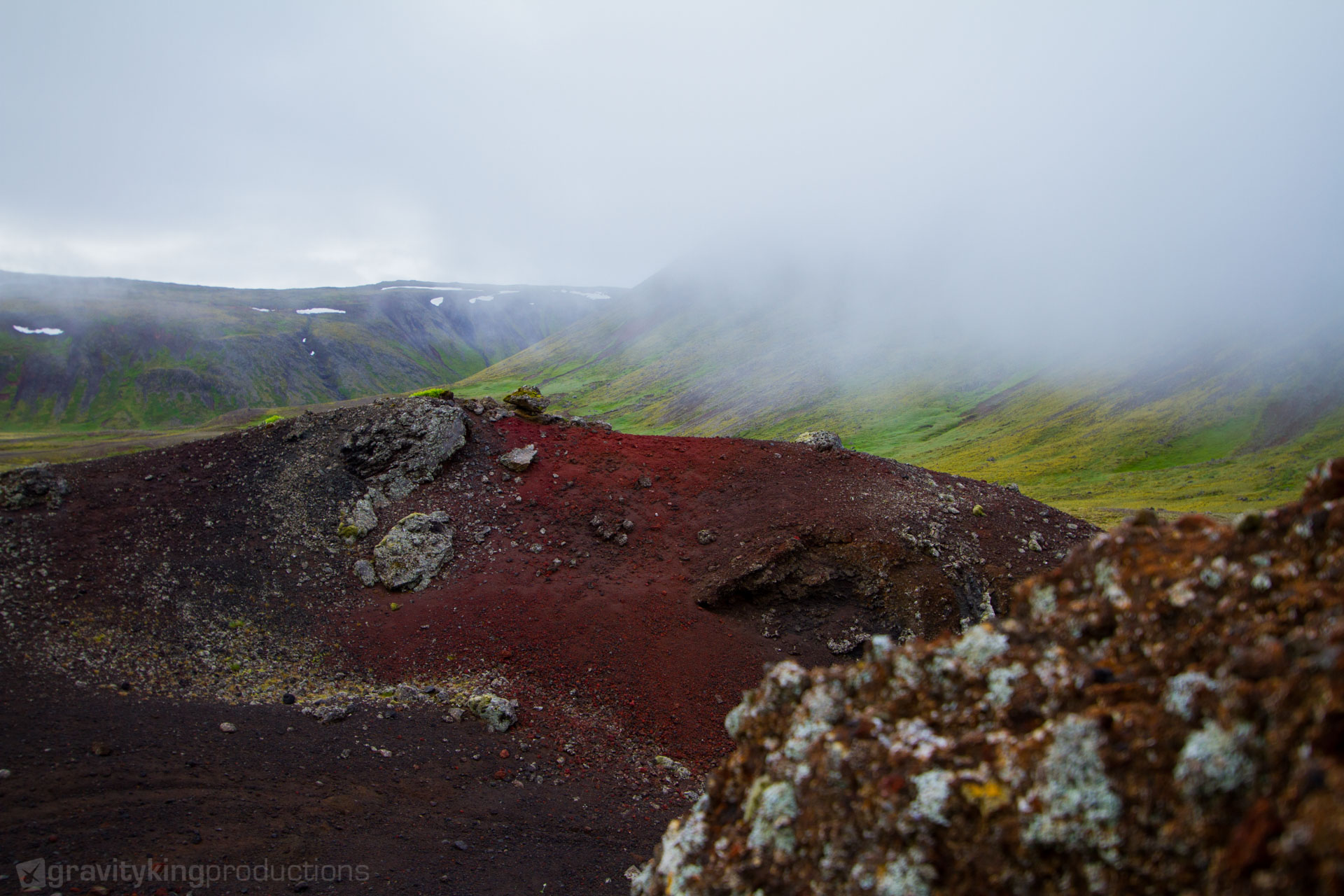 Iceland bears so many and such intense colors, it's hard to stand.