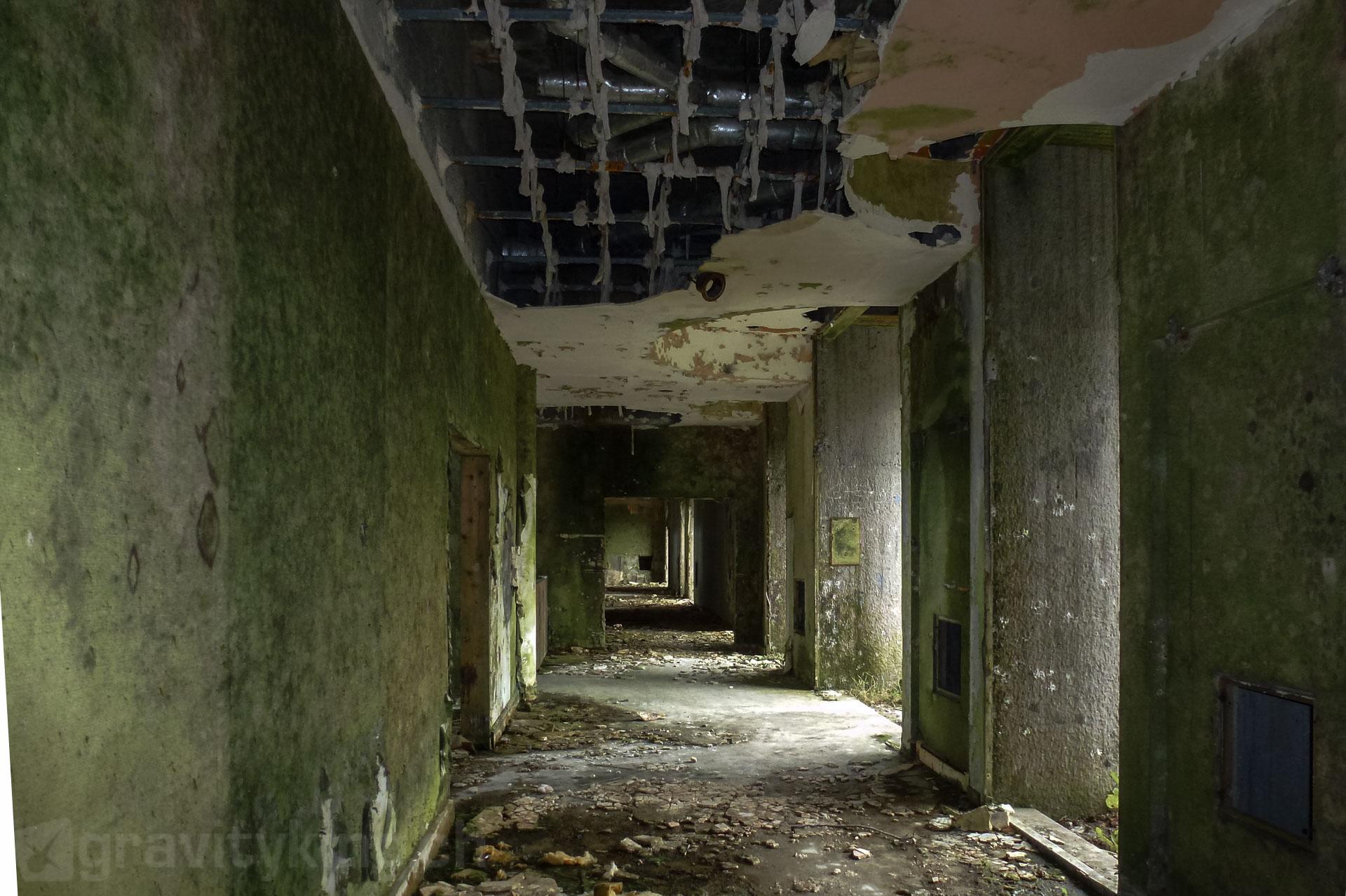 Airy hallway